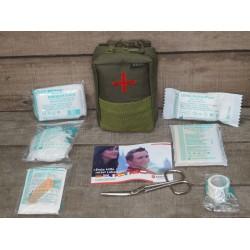 Molle First Aid Kit IFAK Modular abnehmbar Erste Hilfe LEINA 25-teilig Modular oliv