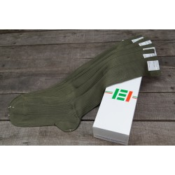 IT ital. 5 Paar Militärsocken lang Militärstrümpfe Armee oliv grün Beruf