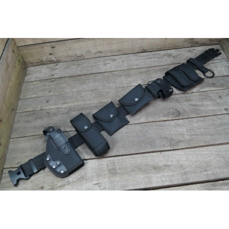 Security Einsatzkoppel 8-teilig Koppel Set Einsatz Gürtel Polizei Holster BW