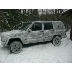 SWE Schneetarnfarbe Wintertarn Schnee weiß 3 Liter Tarnung Pulverform anrühren