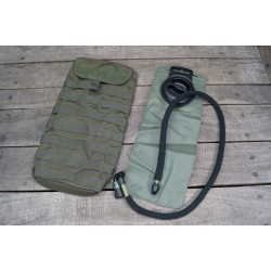 US Water Pack Hydrations Carrier Molle Trinkblase 3 L Modular schwarz