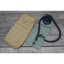 US Water Pack Hydrations Carrier Molle Trinkblase 3 L Modular oliv