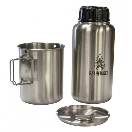 Pathfinder GEN3 Edelstahl Flasche 32 oz. mit Tasse und Deckel