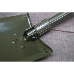schwed. Klappspaten Modell Armee Militär Vollmetall Schneeschaufel Schneeschild