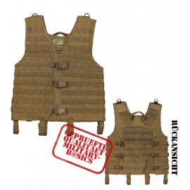US MOLLE Weste light Modular System coyote tan