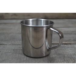 Edelstahltasse Trinkbecher stainless steel 300 ml 0,3 l