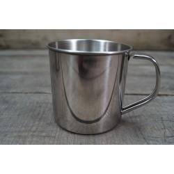 Edelstahltasse 500 ml Trinkbecher stainless steel  0,5 l