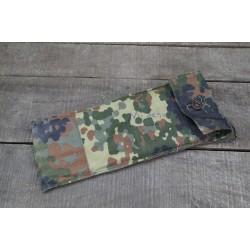 BW Bundeswehr Zeltbestecktasche flecktarn für Zeltbesteck Stangen Heringe