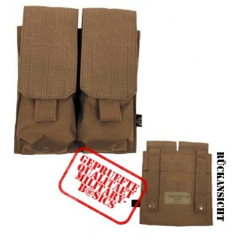 MOLLE Magazintasche doppelt Modular System coyote tan