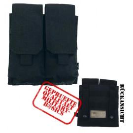 MOLLE Magazintasche doppelt Modular System shwarz