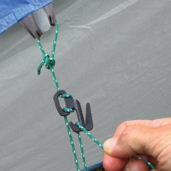 Nite Ize Figure 9™ Kunststoff Zeltleinenset schwarz