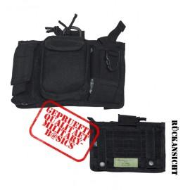Handytasche groß Handy Tasche MOLLE Modular System schwarz