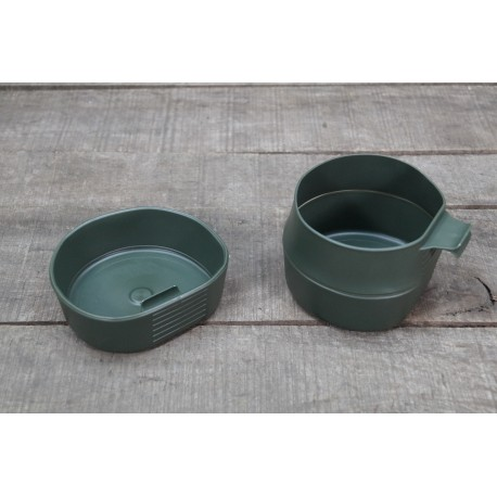 WILDO Fold-a-cup Falttasse 600 ml 0,6 l oliv