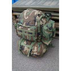 US Army Rucksack Rifleman woodland MOLLE II Backpack
