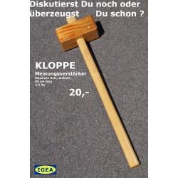 NL holl Holzhammer KLOPPE