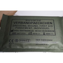 BW Bundeswehr Verbandspäckchen klein nur für Übungszwecke