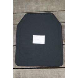 """NIJ level 4 (SK4) Stand Alone Keramikplatte Hartschutzeinschub 30x25cm 10""""x12"""" schräg"""