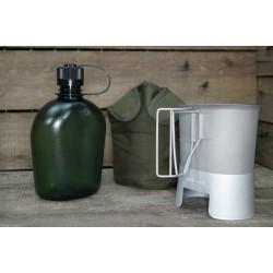US Feldflasche Gen.II Molle Canteen cup Feldflaschenbecher oliv NEU BPA-frei