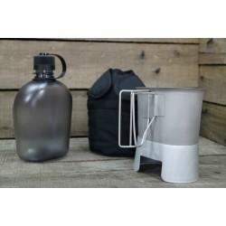 US Feldflasche Gen.II Molle Canteen cup Feldflaschenbecher schwarz NEU BPA-frei