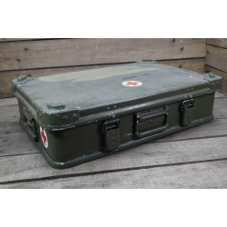 Orig. britische ZARGES Box Aluminiumkiste Alukiste Stapelbox 28 Liter