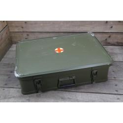Orig. britische QED Box Aluminiumkiste Alukiste Alukoffer 29 Liter