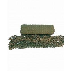 Tarnnetz METERWARE, braun-grün woodland camouflage Sichtschutz Sonnensegel