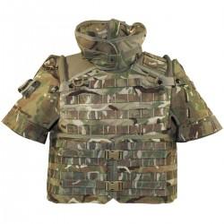 GB UK brit. Assault Weste MTP 8 x SOFT-Filler und Taschen