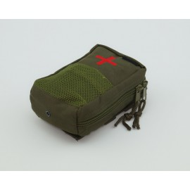 IFAK First Aid Erste Hilfe Tasche abnehmbar MOLLE Modular System oliv