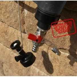 Auslaufgarnitur, geriffelt f. schweizer Wassersack