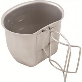 engl. CRUSADER Tasse CUP Edelstahl Feldflaschenbecher