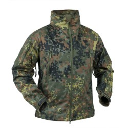 HELION-TEX Gunfighter Softshell flecktarn Shark Skin Soft Shell Jacke