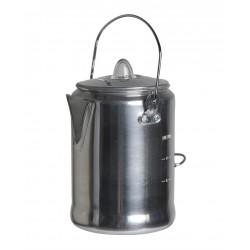 Kaffeekanne Aluminium mit Perkolator für 9 Tassen