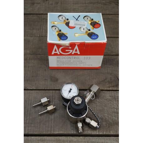 AGA Druckminderer Sauerstoff 200bar MEDCONTROL103  MEDCONTROL 103