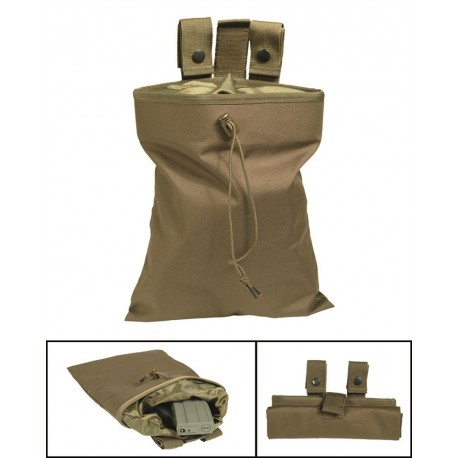 Empty-Shell Pouch coyote tan