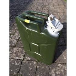 Bundeswehr BW Wasserkanister Metall große Öffnung
