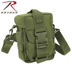 Schultertasche Rothco Tactical Flexipack MOLLE oliv