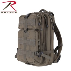 Rucksack Assault Pack MEDIUM oliv CANVAS Segeltuch