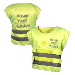 BW Bundeswehr Feldjäger Warnweste gelb MP Military Police