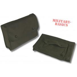 Budeswehr Bordbuchtasche Segeltuch