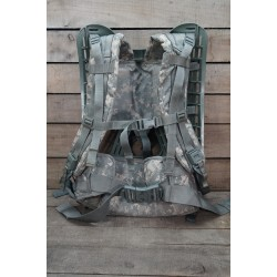 US Army MOLLE II Rucksackgestell Frame komplett foliage at-digital