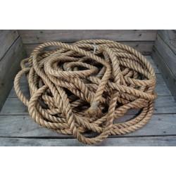 DK dänisches Hanfseil Seil 30mm 50 Meter
