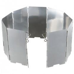 Hitzeschutz Windschutz Aluminium faltbar 9 Lamellen