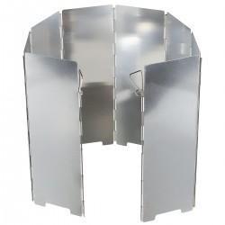 Windschutz Hitzeschutz groß Aluminium faltbar 8 Lamellen