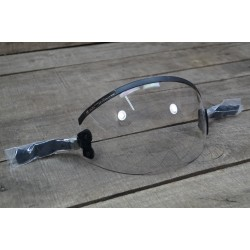 US Visier HGU-55/P Fliegerhelm Single Lens Bungee Visor CLEAR GENTEX