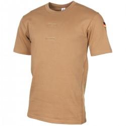 Orig. BW Tropenhemd T-Shirt nach TL  Bundeswehr mit Klett