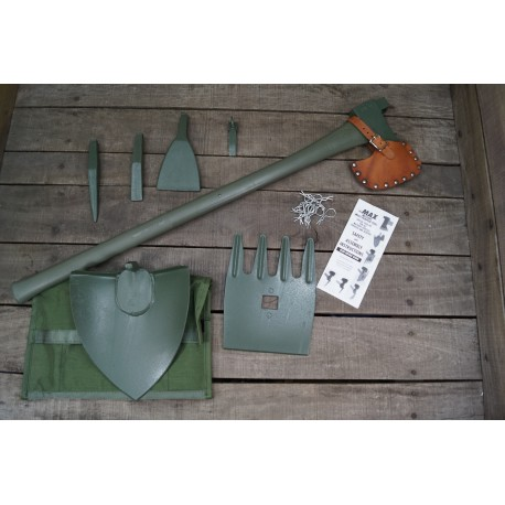 US Army MAX Military Vehicle Extraction Kit 7 Teile Pioneer Tool Kit AXT SPATEN