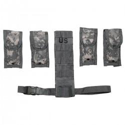US MOLLE II Pistolman Set ACU At-digital Magazintasche Beinextender
