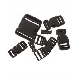 Schnallen- und Verschlussset schwarz Repair Kit