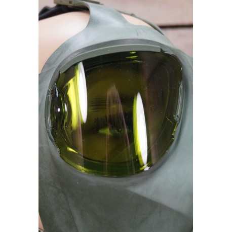 BW Sonnenschutzgläser getönt für MSA Auer M2000 Schutzmaske Gasmaske Bundeswehr