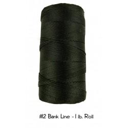 Bankline No. 12 schwarz Bank Line  1lb-Roll Rolle 1580 ft